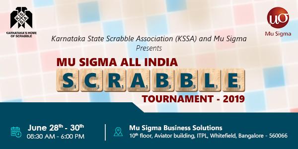 Mu Sigma Scrabble