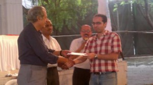 Pune 2012 Prize Distribution